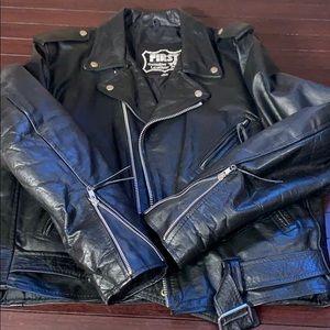 Vintage First genuine leather Men's  jacket